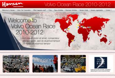Hansen för Volvo Ocean Race – Webbplats 2010