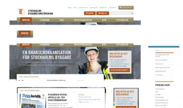 Stockholms Byggmästareförening – Styletile & Tekniskdokumentation